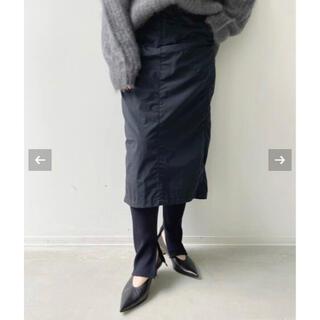 アパルトモンドゥーズィエムクラス(L'Appartement DEUXIEME CLASSE)のアパルトモン ◆ Americana Nylon Tight Skirt 34(カジュアルパンツ)
