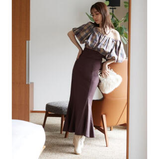snidel - snidel ハイウエストタイトヘムフレアスカート 完売商品