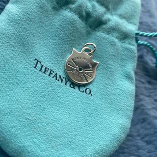 Tiffany & Co. - ティファニー キャット チャーム