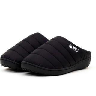 新品未開封 SUBU スブ 21年モデル 冬用サンダル ブラック サイズ1 黒