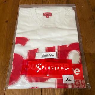 Supreme - 【白/XL】Intarsia Spellout S/S Top【美品】