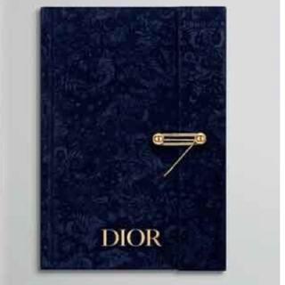 ディオール(Dior)の限定ディオール ビューティー オリジナル ノートブック(ノベルティグッズ)
