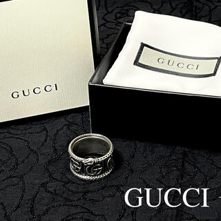 Gucci - グッチ/GUCCI ダブルG スネーク リング/指輪 19号