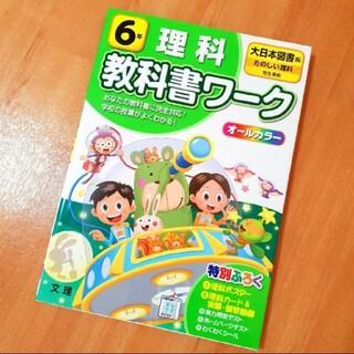 【美品】小学教科書ワーク大日本図書版理科6年