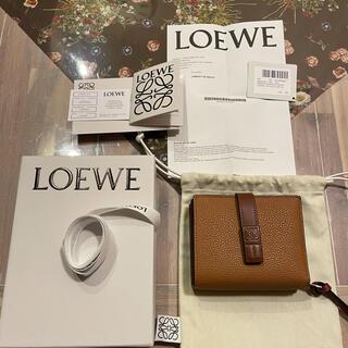 LOEWE - ロエベ❤コンパクト ジップ ウォレット(ソフト グレイン カーフスキン)