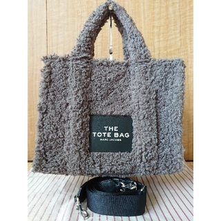 MARC JACOBS - MARC JACOBS【中古】トートバッグ テディ スモール グレー