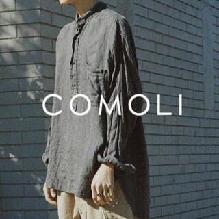COMOLI - comoli コモリ シャツ ブラック サイズ1 ベタシャン 20ss