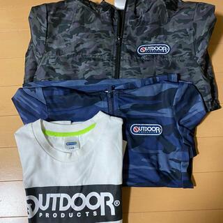 アウトドア(OUTDOOR)の140サイズ 男の子3枚まとめ売り(Tシャツ/カットソー)