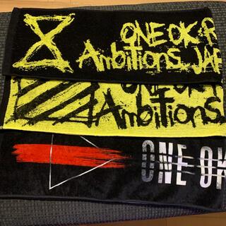 ワンオクロック(ONE OK ROCK)のONE OK ROCK タオルマフラー3枚(ミュージシャン)