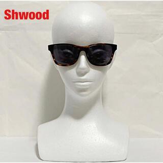 【高級】Shwood シュウッド サングラス ベッコウ柄 ウッド CANBY