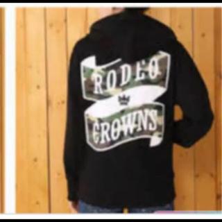 ロデオクラウンズワイドボウル(RODEO CROWNS WIDE BOWL)のロデオクラウンズ パーカー 新品未使用 タグ付き(パーカー)