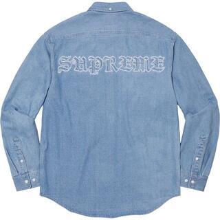 Supreme - Supreme Applique Denim Shirt デニムシャツ