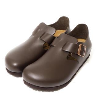 ビルケンシュトック(BIRKENSTOCK)の試着のみ美品 ビルケンシュトック ロンドン サイズ38ナロー幅24.5cm(ローファー/革靴)