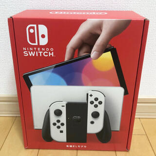 Nintendo Switch - Nintendo Switch 有機ELモデル ホワイト 本体 新品未開封