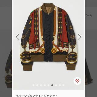 エイチアンドエム(H&M)の【超貴重、即完】TOGA ARCHIVES x H&M(フライトジャケット)