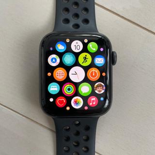 Apple Watch - Apple Watch Series 4 Nike+ グレイアルミニウム アンス