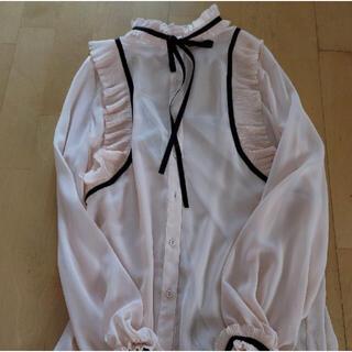DOUBLE STANDARD CLOTHING - ダブルスタンダード ブラウス