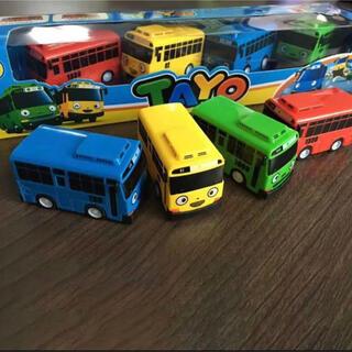ちびっこバス タヨ ミニプルパックカー4個入り