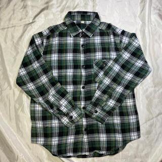 キッズ フランネルシャツ 140サイズ