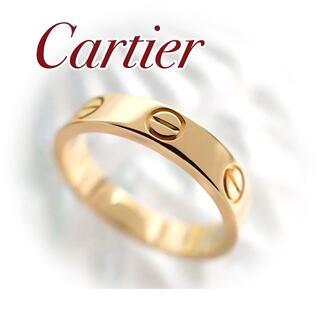 Cartier - カルティエ Cartier K18YG ミニラブリング 49号 イエローゴールド