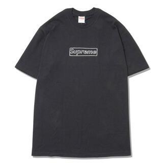 Supreme - supreme kaws chalk logo tee (L)