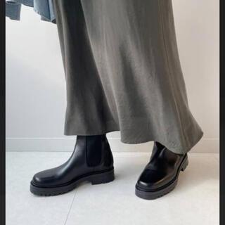 ファビオルスコーニ(FABIO RUSCONI)のコルソローマ 今期完売サイドゴアミドルブーツ(ブーツ)