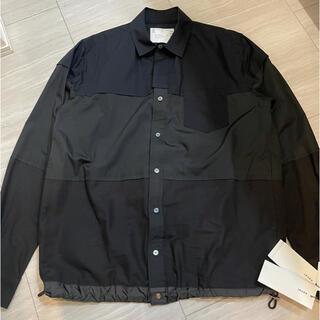 sacai - 【新品未使用タグ付き】sacai 切り替えシャツ