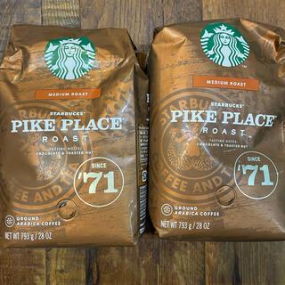 Starbucks Coffee - スターバックス パイクプレイスロースト (粉) 793g 2袋