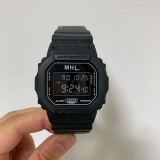 MARGARET HOWELL - MHL エムエイチエル G-SHOCK DW5600ブラック時計