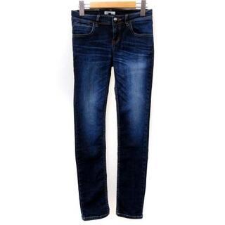 ダブルスタンダードクロージング(DOUBLE STANDARD CLOTHING)のダブルスタンダードクロージング ダブスタ スキニー デニム パンツ 青 36(デニム/ジーンズ)