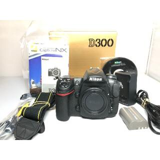 Nikon - 僅か83ショット ニコン D300 ボディ