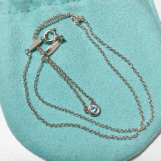 Tiffany & Co. - 美品 ティファニー バイザヤード アクアマリン ネックレス エルサペレッティ