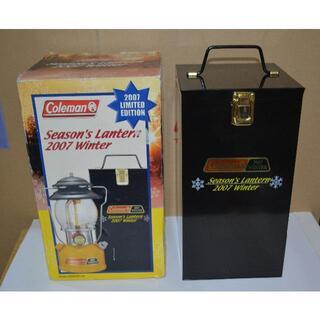 Coleman - コールマン メタルケース(シーズンズランタン2007 限定)