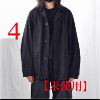 COMOLI - 【未使用】COMOLI デニム ワークジャケット サイズ4 黒