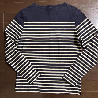 ムジルシリョウヒン(MUJI (無印良品))の無印良品 メンズボーダーカットソー(Tシャツ/カットソー(七分/長袖))