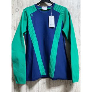 DESCENTE - 新品 16,500円 デサント ゴルフウェア ニット セーター レディース M