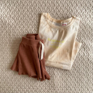 ZARA - 美品 ザラベビー 上下セット 104.110 タイダイTシャツ リブバミューダ