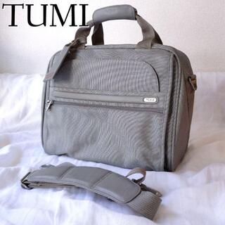 トゥミ(TUMI)のTUMI トュミ 2WAY ビジネスバッグ ショルダー ナイロン 大容量 グレー(ビジネスバッグ)