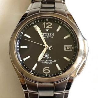 シチズン(CITIZEN)のシチズン CITIZENアテッサ エコドライブ メンズ 腕時計 デイト(腕時計(アナログ))