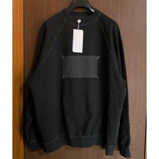 Maison Martin Margiela - 黒L新品 メゾン マルジェラ Memory of 4ステッチ スウェット シャツ