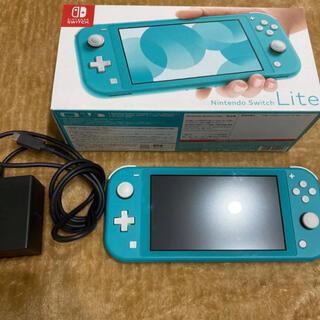 Nintendo Switch - 任天堂switch lite ターコイズ