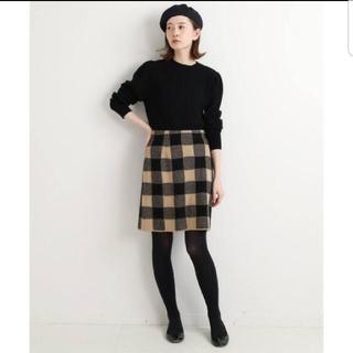 IENA - 【イエナ】sese チェックジャガードスカート 38