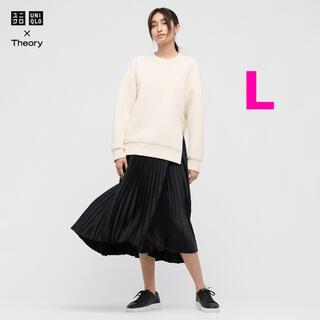 UNIQLO - ユニクロ × theory  プリーツラップスカート