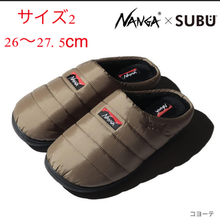 NANGA - NANGA ナンガ SUBU オーロラウィンターサンダル  コヨーテ