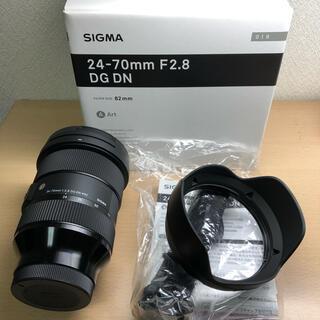 SIGMA - SIGMA 24-70mm F2.8 DG DN 019 eマウント