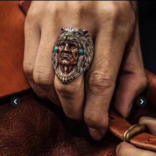 Native American 指輪 リング