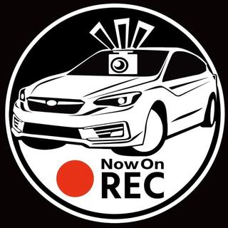 車種カラー変更可 スバル インプレッサ ドラレコ ドライブレコーダー ステッカー
