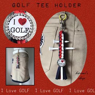 PEARLY GATES - ゴルフ ティーホルダー スカート パンツ ベルト カートバッグ キャディ ボール