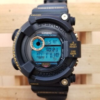 G-SHOCK - DW-8200BU-9AT  ゴールドチタンフロッグマン 美品