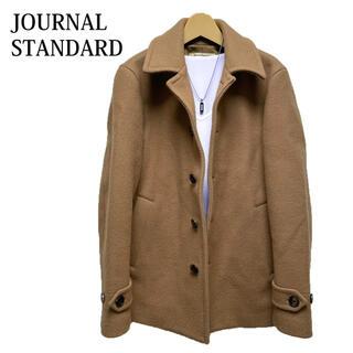 JOURNAL STANDARD - JOURNAL STANDARD ステンカラーコート キャメル ウールコート